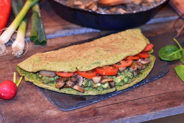 Fitt fazék kultúrblog : Spenótos lepény (vegan). Gluten free. Breakfast.