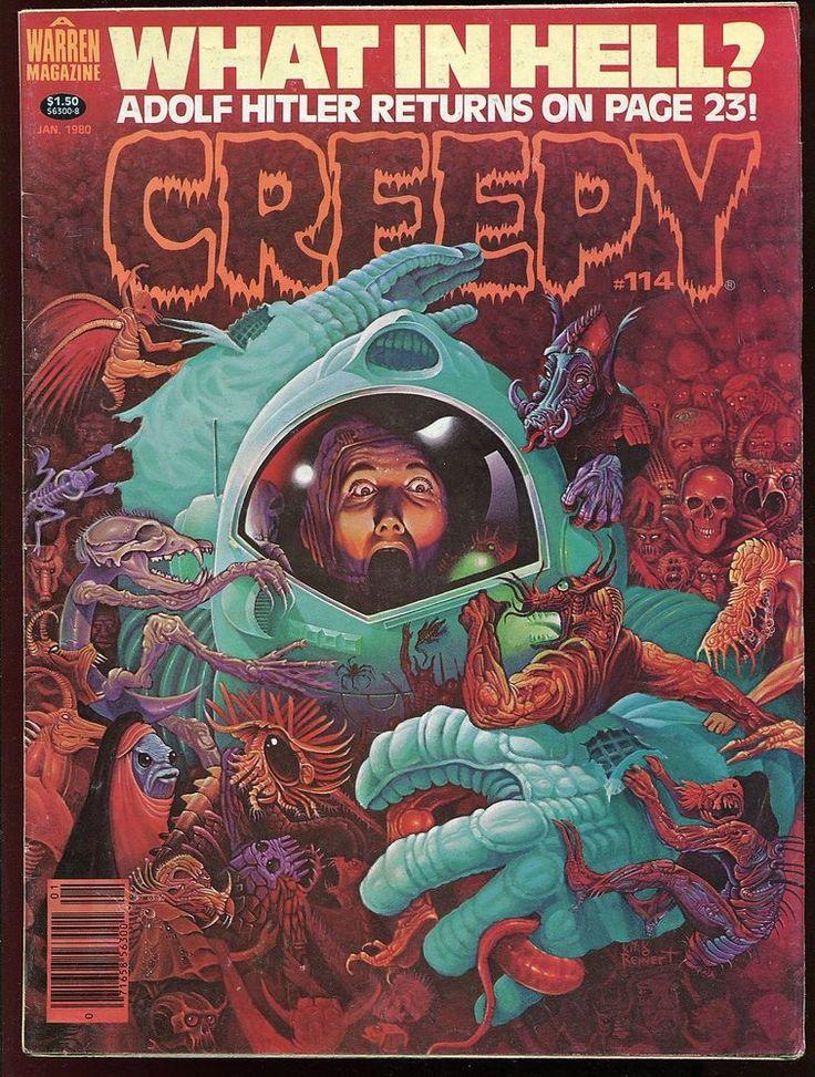 creepy horror magazine 114 alex toth jim starlin pepe moreno casares warren 1980 from $5.99