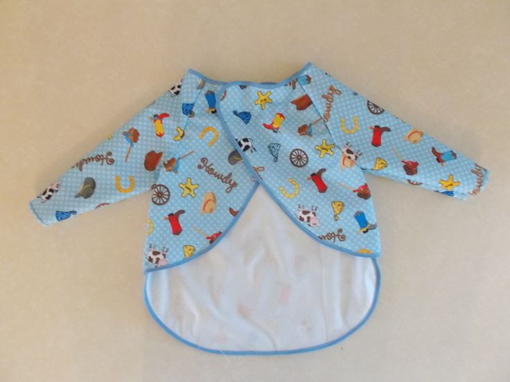 Baby Bib With Sleeves Sewing Pattern Image collections - origami ...