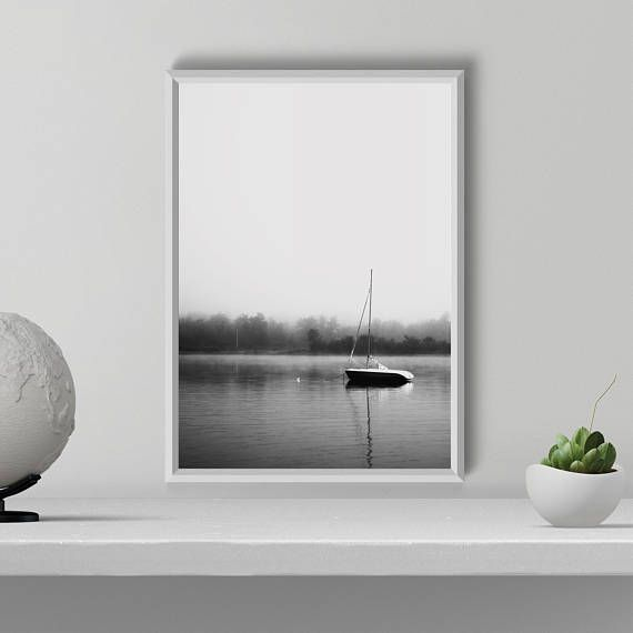 Hey, I found this really awesome Etsy listing at https://www.etsy.com/listing/586536315/boat-art-print-black-and-white-print