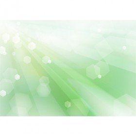 緑のキラキラ_背景イラスト素材