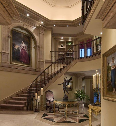 Beautiful Mansion Foyers : Best images about foyer style on pinterest