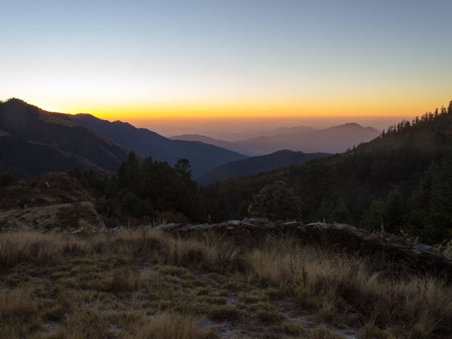 Sunrise On Poon Hill