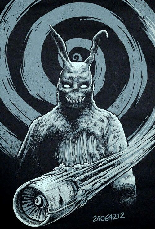 """mythological connection to donnie darko Donnie darko, in its own little way, is a masterpiece from the aboriginal writer-director richard kelly, which flopped at the box office so stupendously, it made people stretch out on the country road, with hoardings """"middlesex ahead""""."""