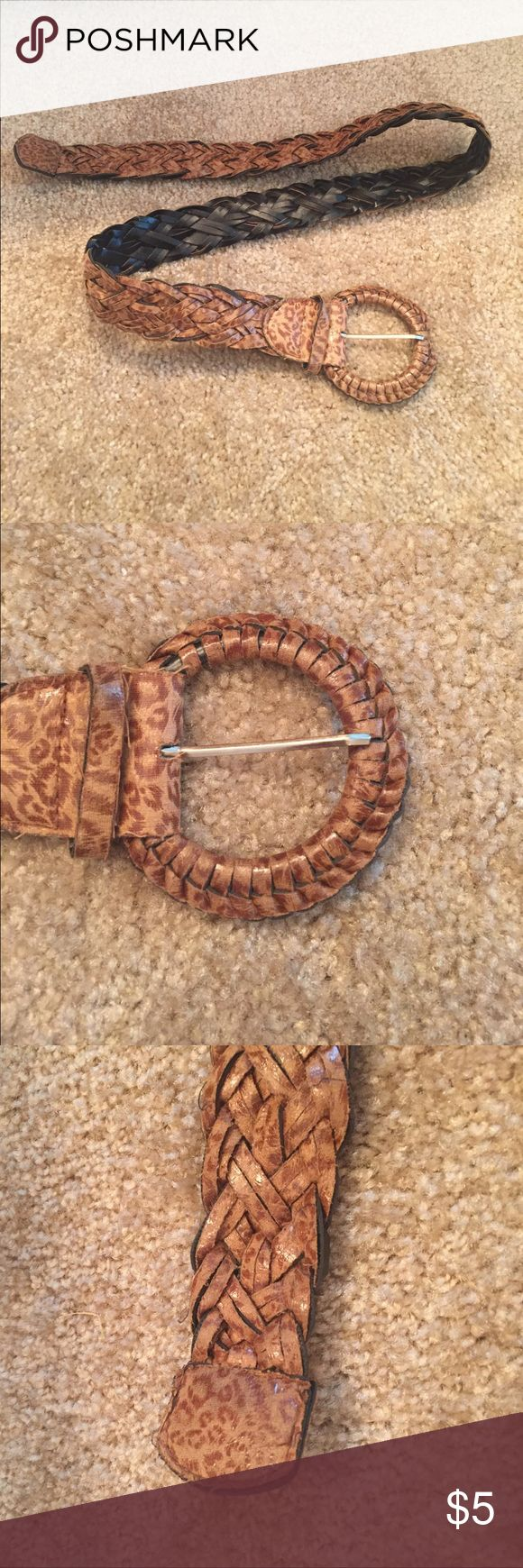Animal Print Belt This belt is in great condition. Accessories Belts