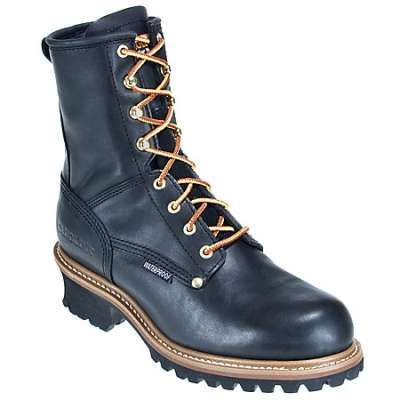 Carolina CA4823 Men's 8 Inch Waterproof Insulated Logger Boot, $125
