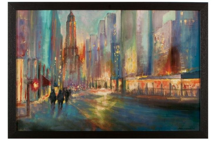 End of Day by John Allinson | Cityscapes | Art Under $100 | Art | Z Gallerie