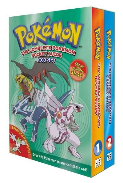 The Complete Pokemon Guide Set, White