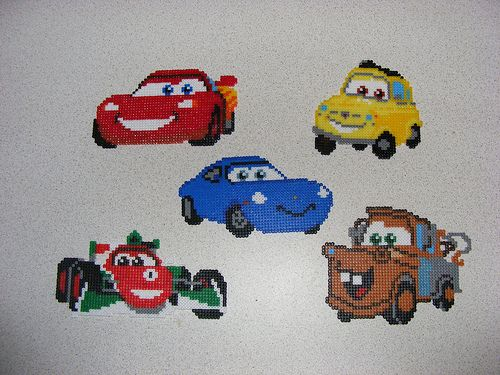 sandylandya@outlook.es  Cars hama perler beads by ki-vi