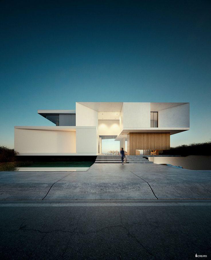 #house #villa  #creato #facade #design #project #land #luxe