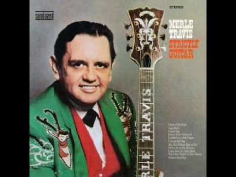 """""""Guitar Rag"""" - Merle Travis.  His picking style was heavily copied by folk and country guitarists in the '60s and beyond."""
