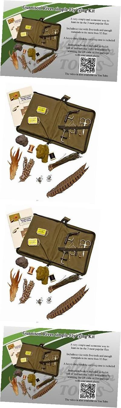 Kits 44915: Gunnison River Simple Fly Tying Kit -> BUY IT NOW ONLY: $50.01 on eBay!
