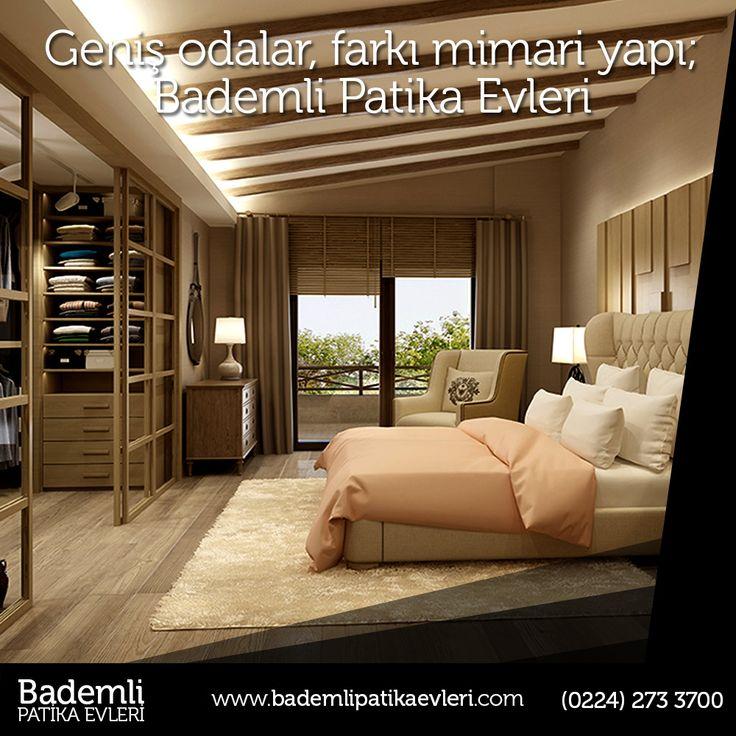 Geniş ve kullanışlı odaları ile Bademli Patika Evleri, yeni yaşam tarzınızı belirleyecek. www.bademlipatikaevleri.com  #bursa #bademli #ev #villa #müstakil #daire #yatırım #patika #site #genişodalı #giyinmeodası #havuzlu #doğa #yeşil  Bademli Mah. Eski Mudanya Cad. No:175 Mudanya / BURSA info@bademlipatikaevleri.com // (0224) 548 0084  https://facebook.com/bademlipatikaevleri https://twitter.com/patikaevleri https://tr.pinterest.com/patikaevleri https://www.instagram.com/bademlipatikaevleri/