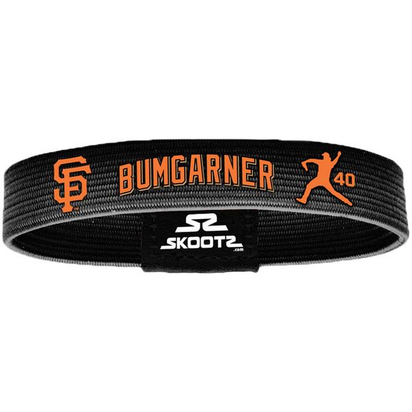 Madison Bumgarner San Francisco Giants Skootz Shadow Bandz - Black - $9.99