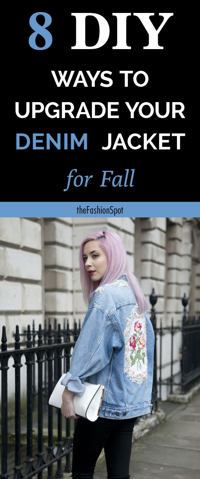 DIY your denim jacket