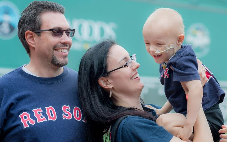 #MomentsWeLove - Last month patients and their families joined Jimmy Fund supporters at John Hancock Fenway Fantasy Day where they got to enjoy a day outside of treatment!