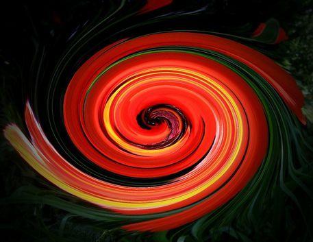 'Spirale Nr. 5' von Claudia Neubauer bei artflakes.com als Poster oder Kunstdruck $5.94