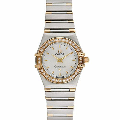 Omega Constellation swiss-quartz womens Watch (Certified Pre-owned) 1365.71 -- Want to know more, click on the image.