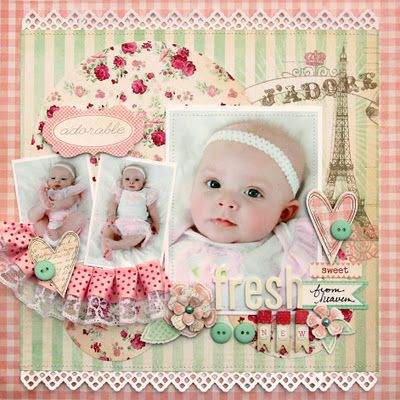 pink baby ⊱✿-✿⊰ Follow the Scrapbook Pages board visit GrannyEnchanted.Com for thousands of digital scrapbook freebies. ⊱✿-✿⊰