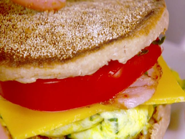 Get this all-star, easy-to-follow Food Network Healthy Breakfast Sandwich recipe from Ellie Krieger.