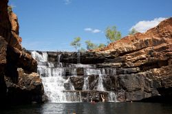 KGM-0024879 © WestPix Bell Falls, in Bell Gorge, Gibb River Road, Kimberley. Picture: Stephen Scourfield The West Australian