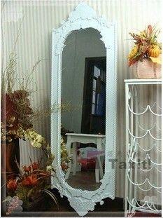 加寬田園穿衣鏡 試衣鏡 化妝鏡 浴室鏡全身鏡時尚鏡壁掛特價-淘寶網