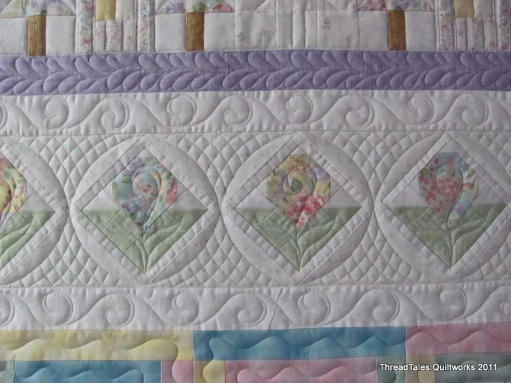 Love how the quilting can entirely change the shape.Quilt Inspiration, Quilt Ideas, Hors Men, Beautiful Quilt, Motion Quilt, Pretty Pastel, Horses Men, Machine Quilt, Clothing Horses