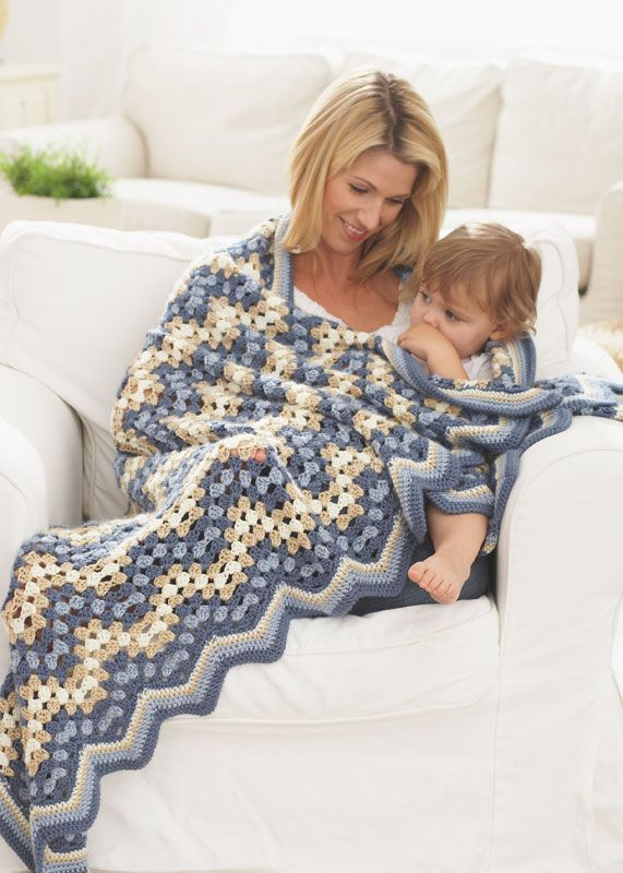 ... Granny Goes Ripple Crochet / Knitting Pinterest Afghan crochet