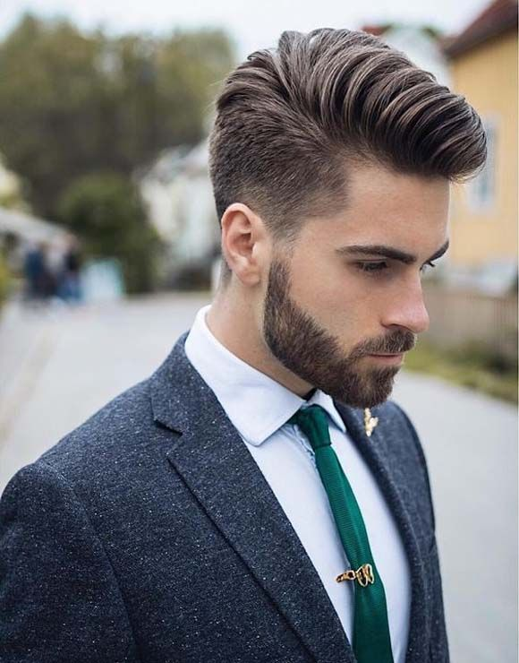 Young Men S Haircuts In 2020 Thick Hair Styles Beard Styles Mens Hairstyles Thick Hair