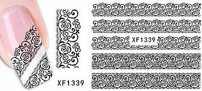Nail Sticker Nagel Finger, Fuß nägel Tattoo Aufkleber 1339  #ohrhanger #bracelets #saphir #gold #amber #jewellery #oliviasschmuck #semipreciousstones #ruby #sapphire