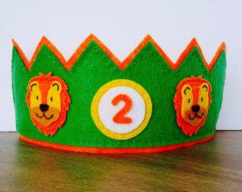 Geburtstag Krone fühlte Crown Cupcake von FeltLikeCelebrating