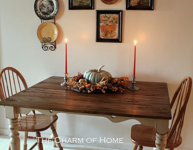 The Charm of Home: Cottage Table