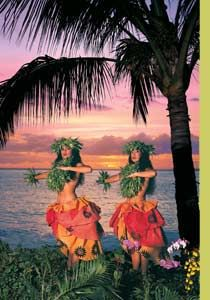 Watch the grass skirts fly around at the luau and learn to hula