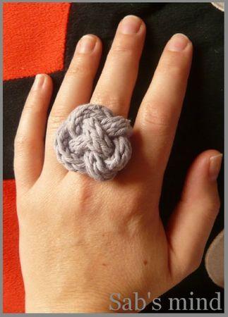bague tricotin