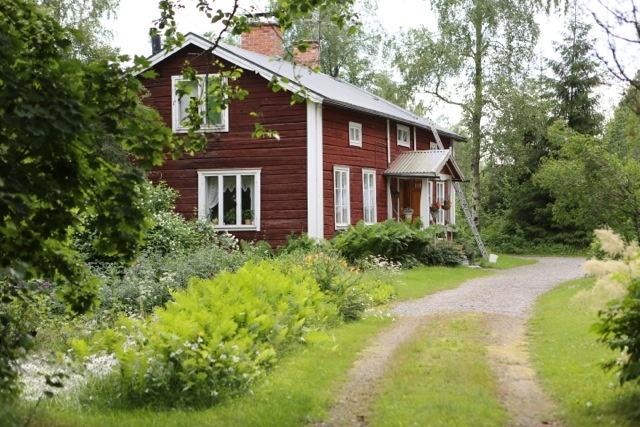 House in Dalarna, Sweden