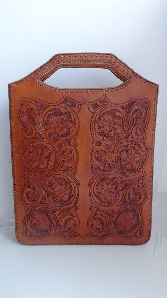 сумка  Андромеда от leathercarving11 на Etsy