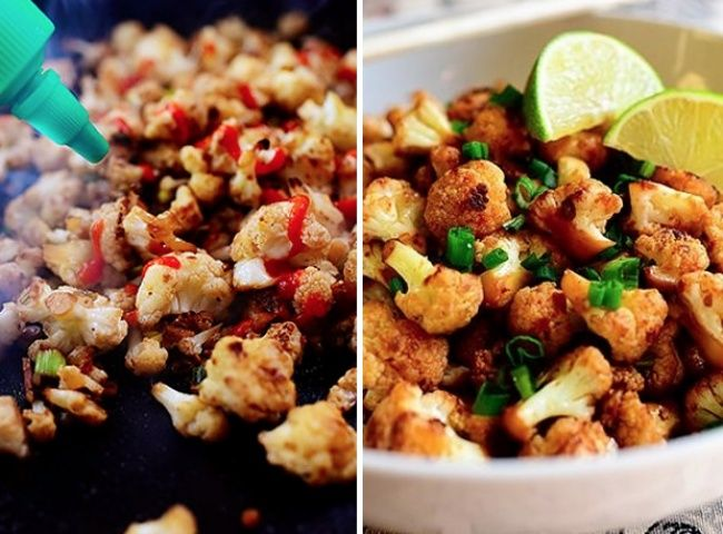 Пряная цветная капуста. 15 крутых блюд, которые можно приготовить за 15 минут | 4vkusa.ru