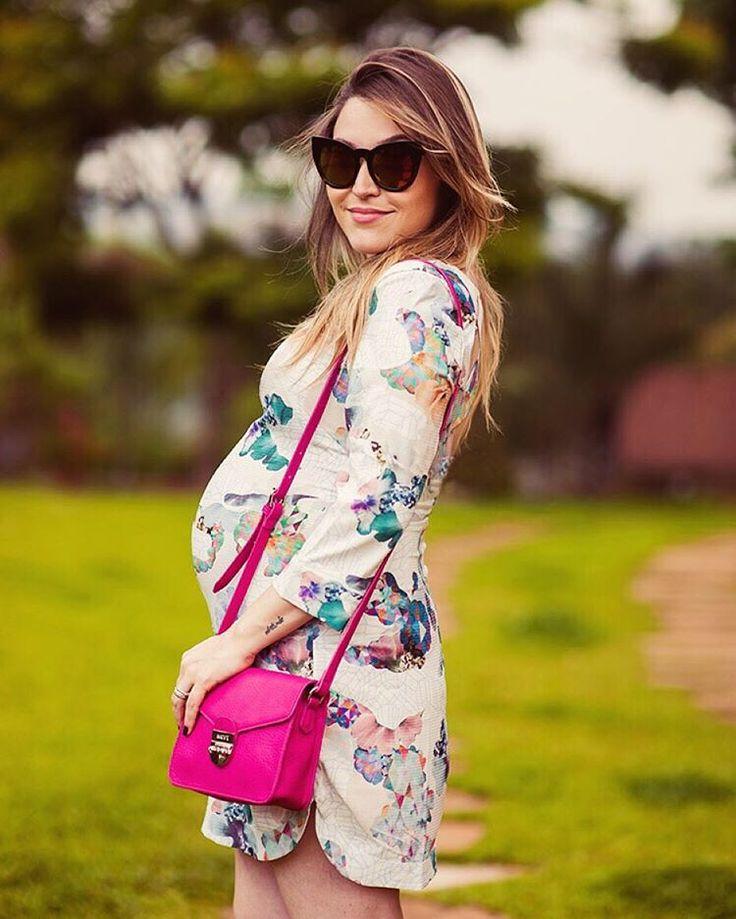 Moda gestante: 8 looks de verão da blogueira Lu Ferreira