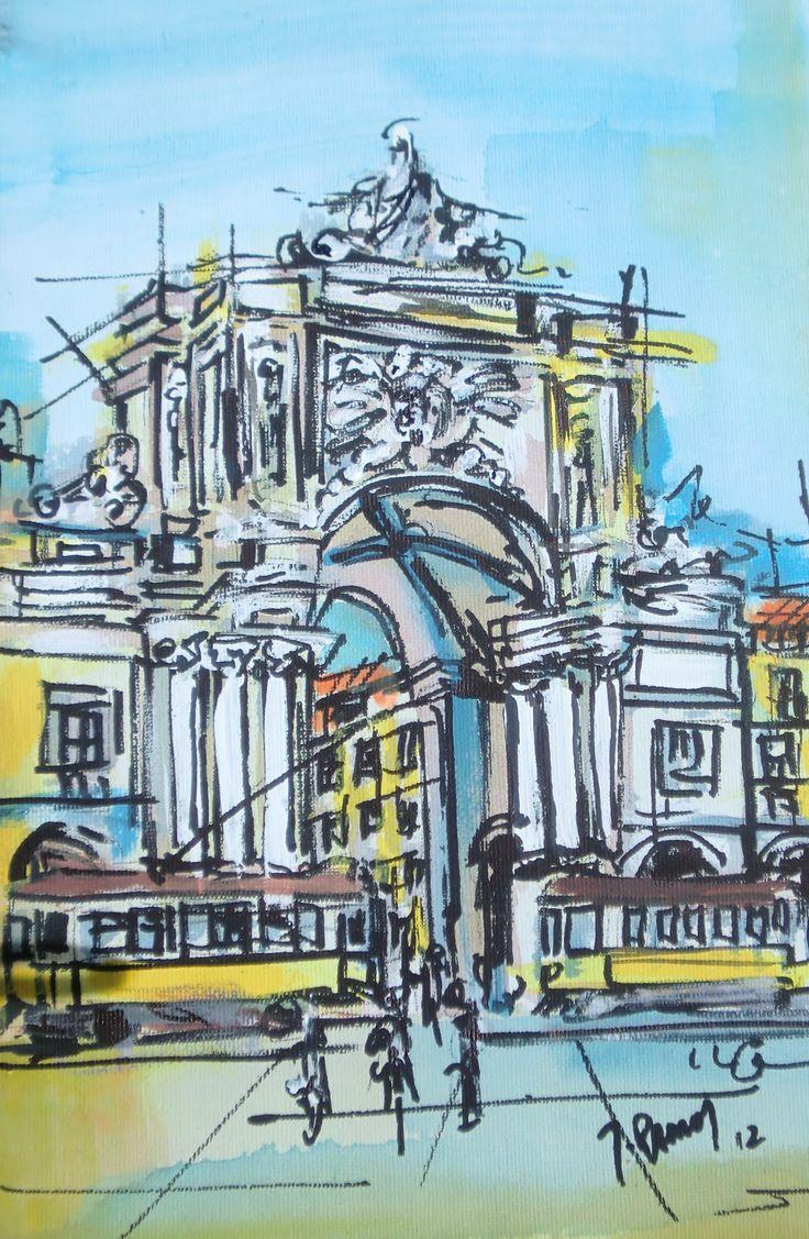 Arco da rua Augusta - Lisboa