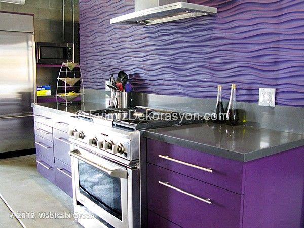 en gzel mor mutfak 2014 2015 - Violet Kitchen 2015
