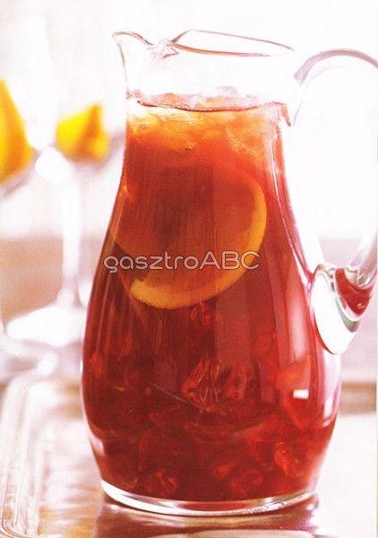 Citrus sangria | Receptek | gasztroABC