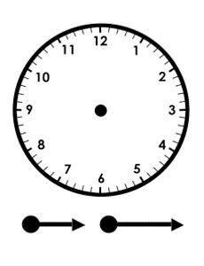 Printable Clock to Learn to Tell Time via Freeology, Free School Stuff. Lots of other worksheets, calendars, coloring pages, and templates for free.