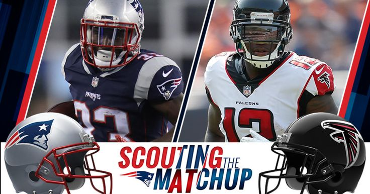 Atlanta and New England bring potent passing games to Sunday's night's battle at Gillette Stadium.