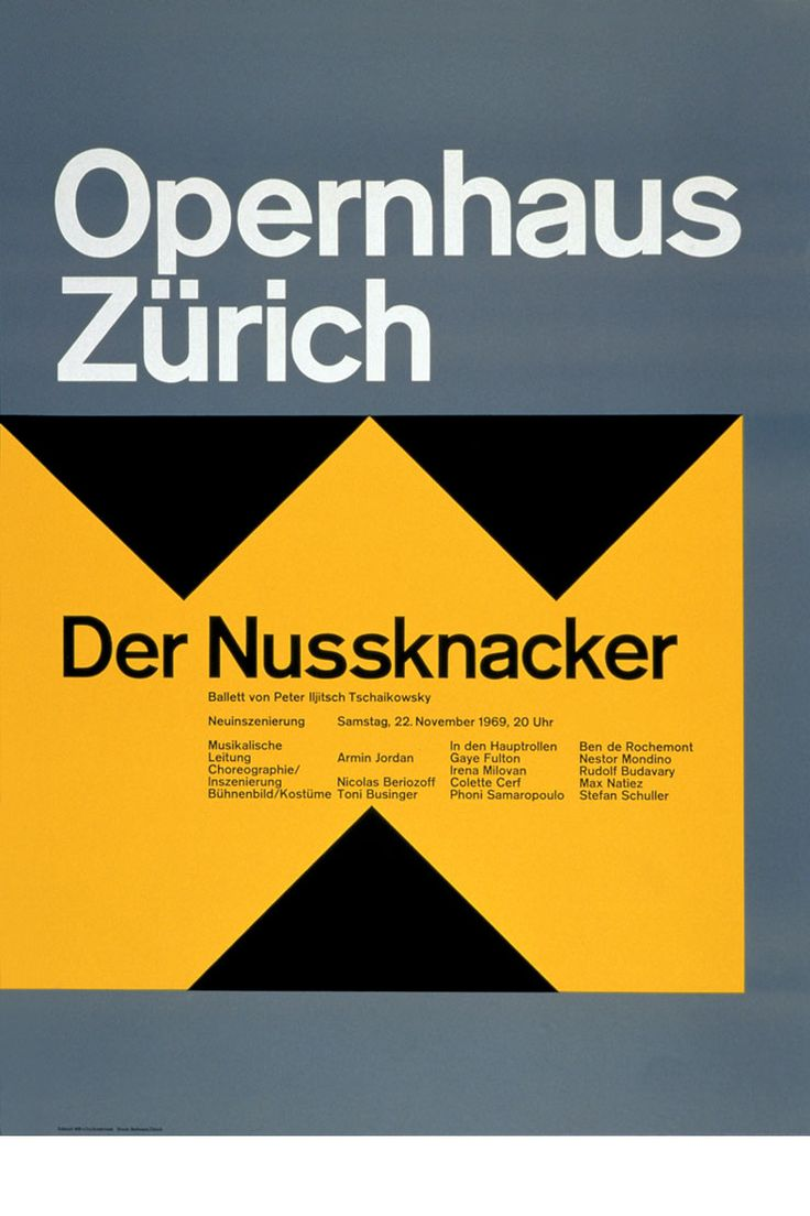 "josef muller brockmann and his work essay Josef müller-brockmann's graphics left a lasting mark on swiss visual  his  posters demonstrate how a sober, formally reduced language works best for  conveying  includes the essay ""the grid of history"" by catherine de smet as  well as ""in."