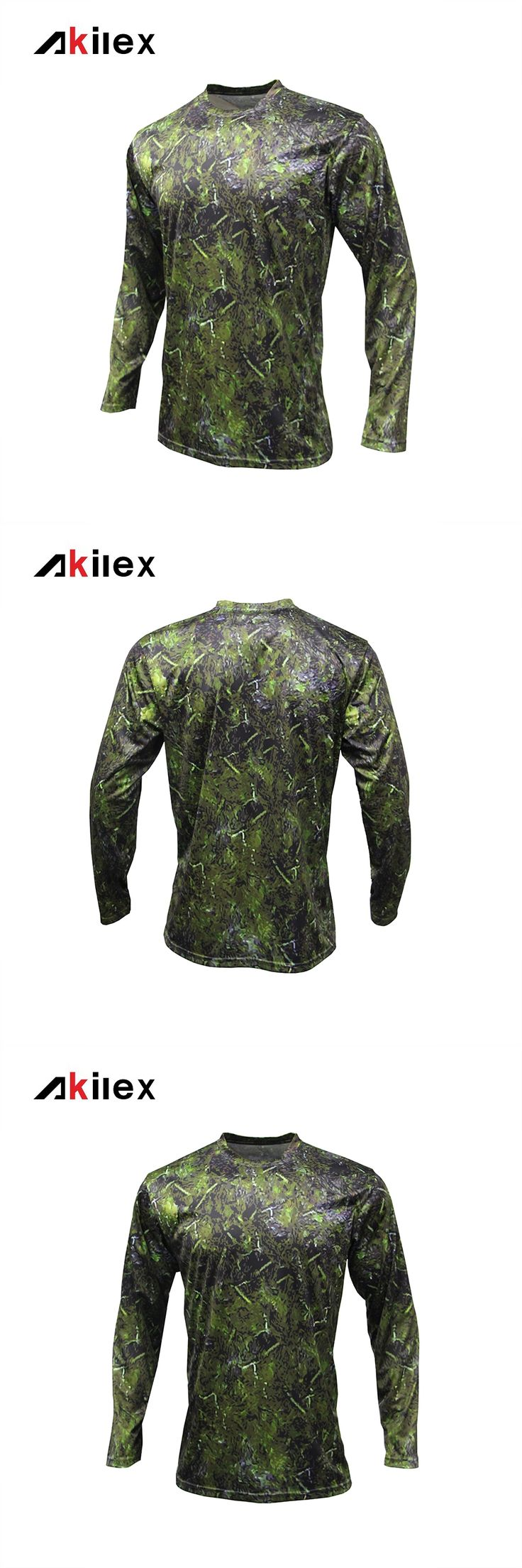 Men New Design Sublimation High quality Bodybuilding Sport Camouflage Leisure Cheap Long Sleeve Sportswear Tees