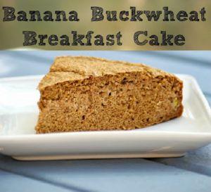 Koken met Fannetiek: banaan boekweit breakfast cake