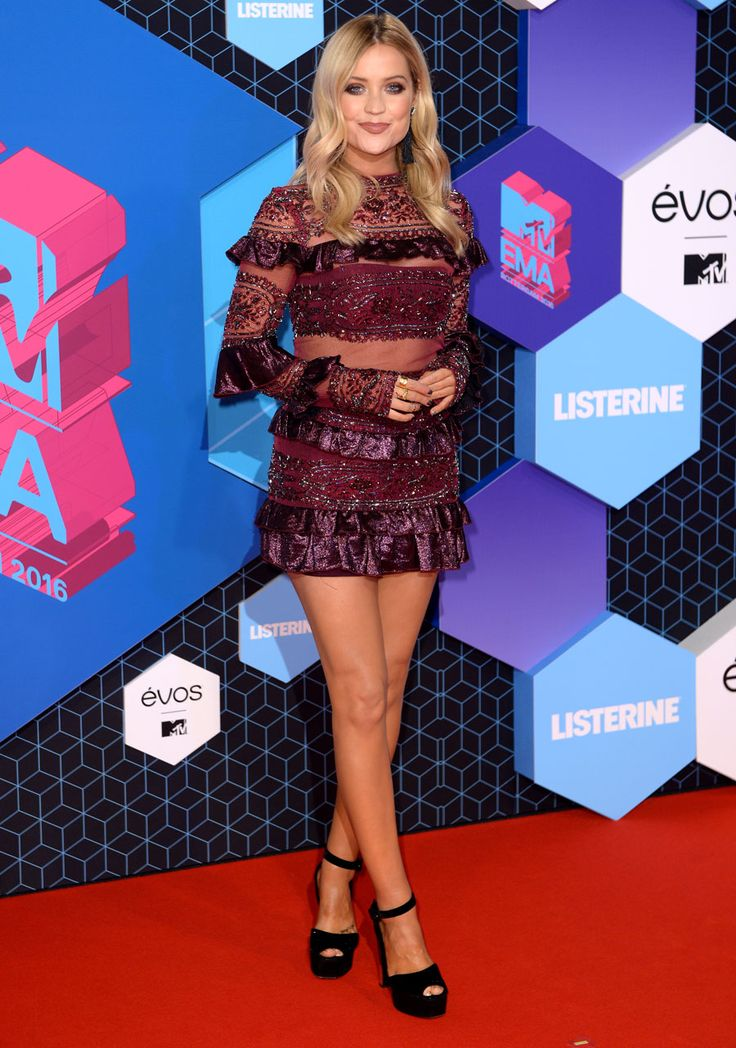 Laura Whitmore aux MTV EMA 2016