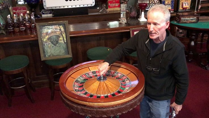 1970's Casino Roulette Wheel by The Mantiques Network