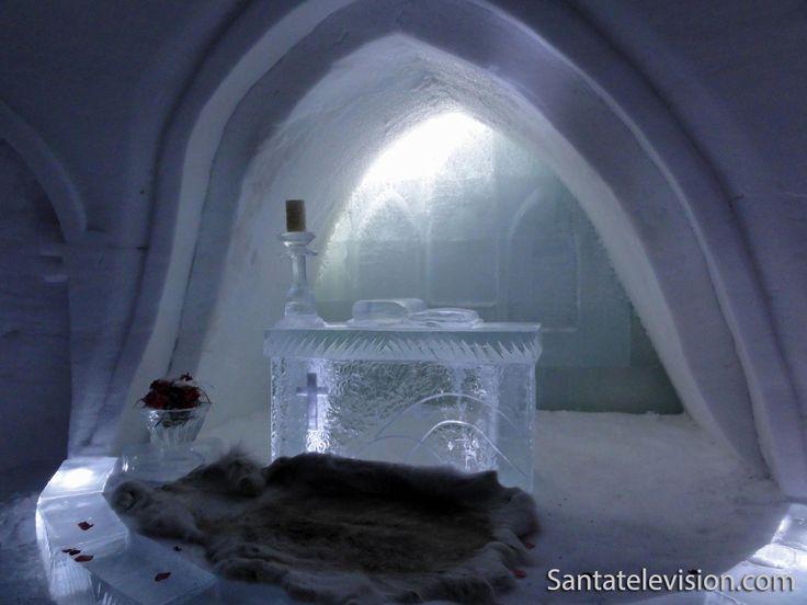 Luvattumaa-Eiskapelle in Levi, Lappland