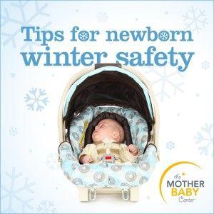 newborn winter safety tips